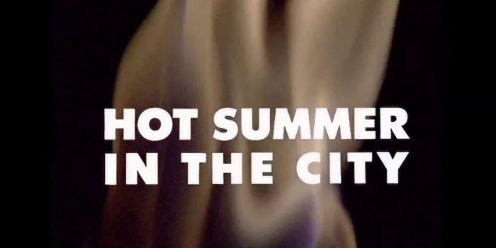 Varm sommer i byen