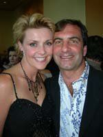 Amanda Tapping e Allan Kovacs