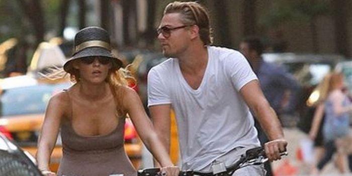 Blake Lively at Leonardo DiCaprio