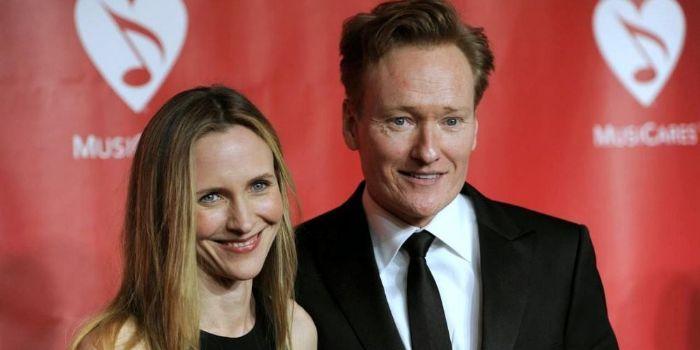 Conan O'Brien og Liza Powell