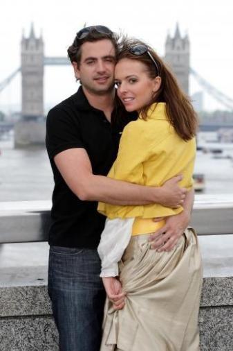 Anna Wendzikowska og Christopher Combe