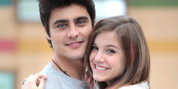Alice Wegmann e Guilherme Leicam