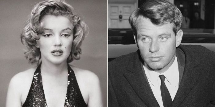 Marilyn Monroe e Robert F. Kennedy