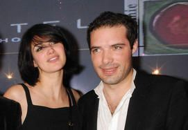 Nicolas Bedos and Helena Noguerra