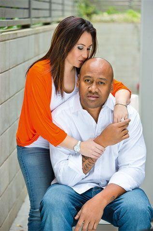 Jonah Lomu e Nadene Quirk
