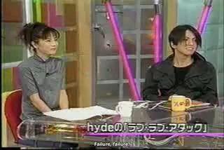 Megumi Oishi e Hyde