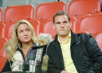 Wesley Sneijder e Ramona Streekstra