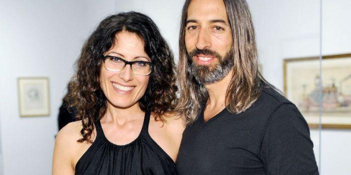 Lisa Edelstein e Robert Russell (artista)