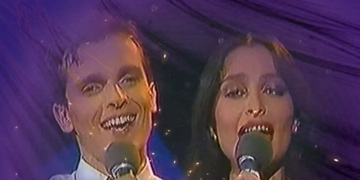 Daniela Romo og Miguel Bosé