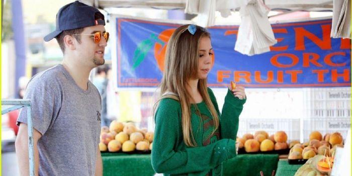 Logan Henderson og Makenzie Vega