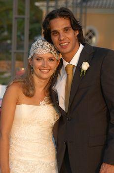 Nuno Gomes und Patricia Aguilar
