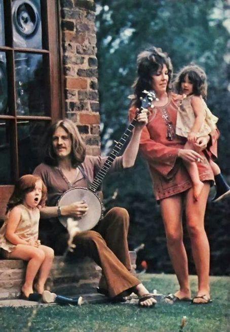 John Paul Jones e Maureen Jones