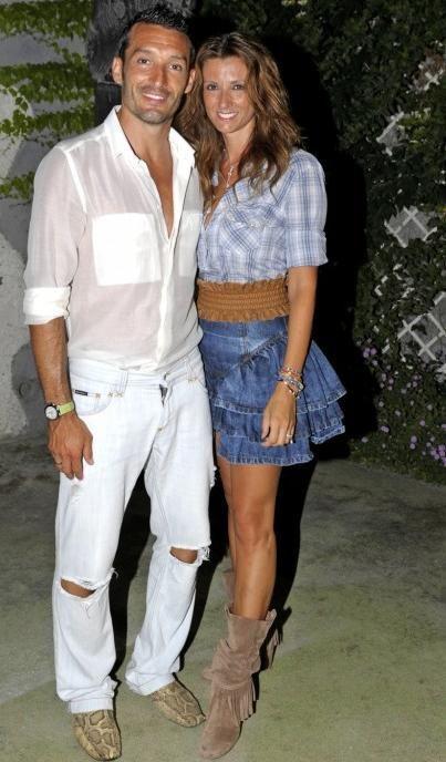 Gianluca Zambrotta og Valentina Liguori