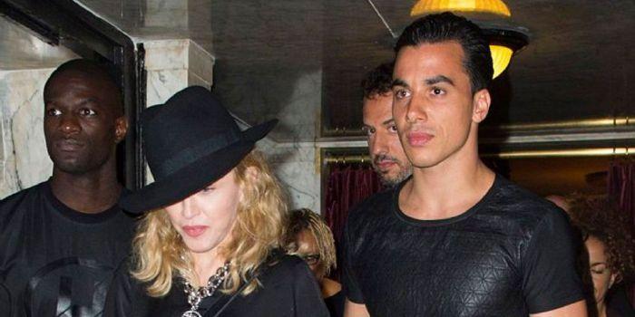 Madonna e Timor Steffens