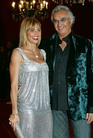 Flavio Briatore und Heidi Klum