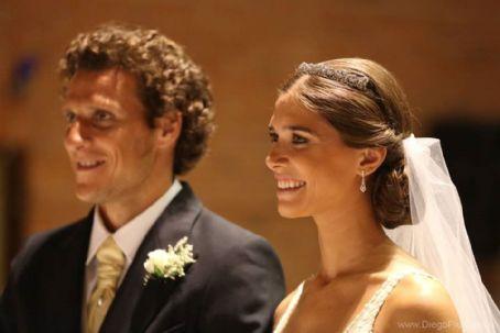 Diego Forlan e Paz Cardoso