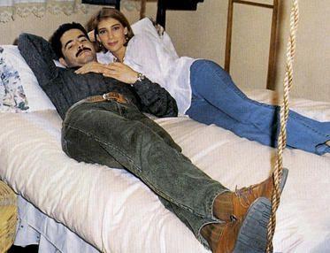 Cynthia Klitbo e Jorge Antolín