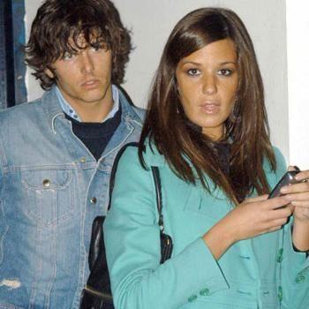 Alessia Fabiani and Niccolò Oddi