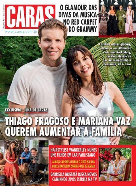 Thiago Fragoso e Mariana Vaz