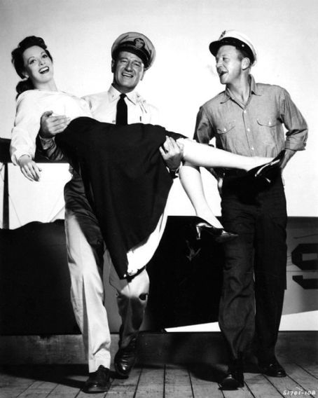 John Wayne és Maureen O'Hara