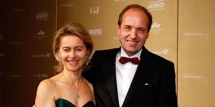 Ursula Von der Leyen و Heiko Von der Leyen