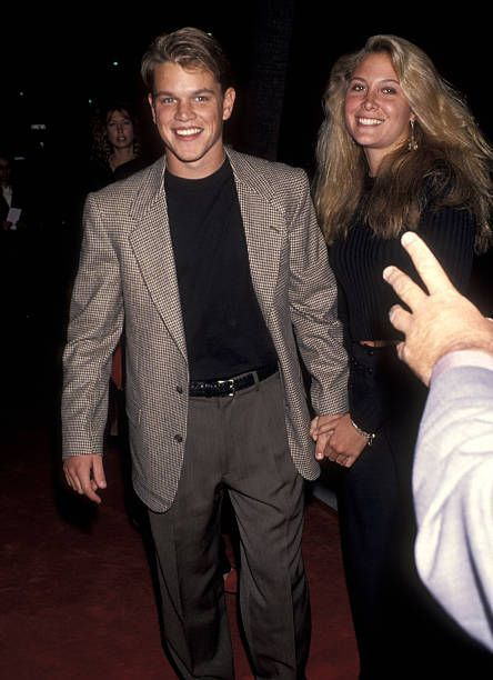 Skylar Satenstein e Matt Damon